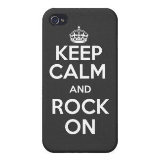 Keep calm and rock on case iPhone 4/4S cover