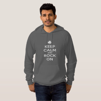KEEP CALM and ROCK ON - Irish Dance Hoodie