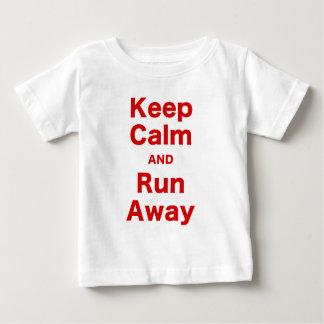 Keep Calm and Run Away Shirt