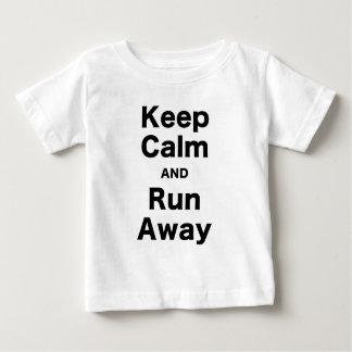 Keep Calm and Run Away T-shirt