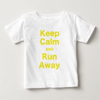 Keep Calm and Run Away T-shirts