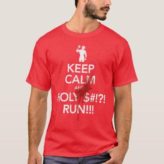 Keep Calm and RUN - Unisex T-Shirt
