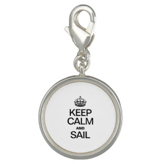 KEEP CALM AND SAIL CHARM