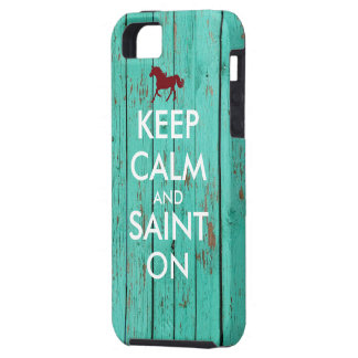 Keep Calm and Saint On Case For The iPhone 5