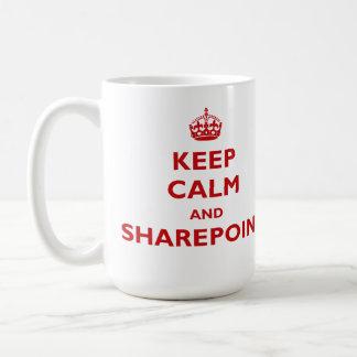 Keep Calm And SharePoint - Mug