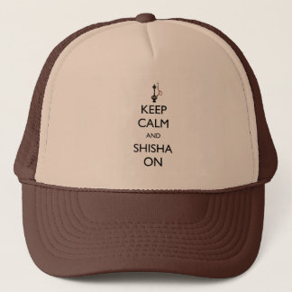 Keep Calm and Shisha On Trucker Hat