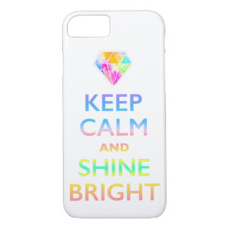 KEEP CALM AND SHNE BRIGHT Case-Mate iPhone CASE