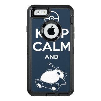Keep Calm and Sleep Iphone Case