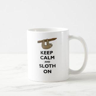 Keep Calm And Sloth On Coffee Mug