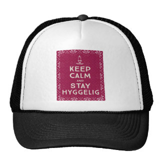 Keep Calm and Stay Hyggelig Trucker Hat