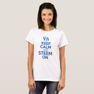 Keep Calm and Steem On T shirt