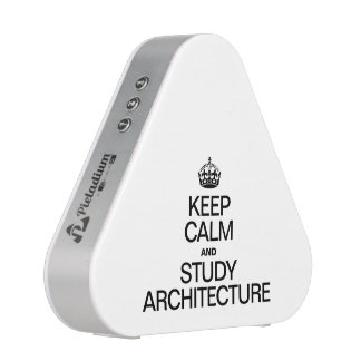 KEEP CALM AND STUDY ARCHITECTURE SPEAKER