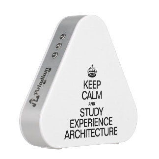 KEEP CALM AND STUDY EXPERIENCE ARCHITECTURE BLUETOOTH SPEAKER
