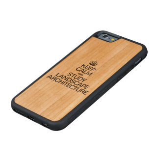 KEEP CALM AND STUDY LANDSCAPE ARCHITECTURE CHERRY iPhone 6 BUMPER CASE