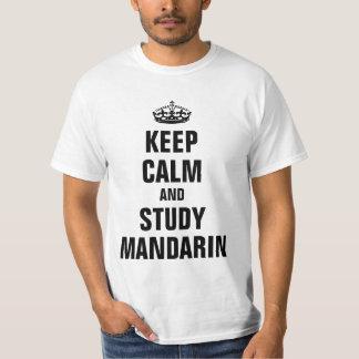 Keep calm and study Mandarin T-Shirt