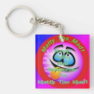 Keep calm and sub keychain