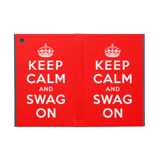 Keep Calm and Swag On Cases For iPad Mini