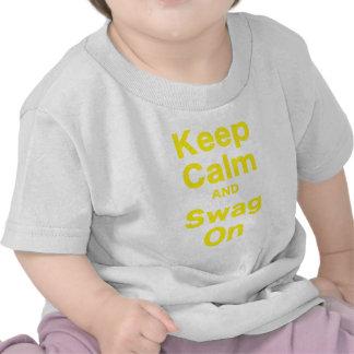 Keep Calm and Swag On Tee Shirt