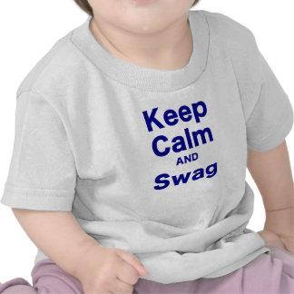 Keep Calm and Swag Tee Shirt