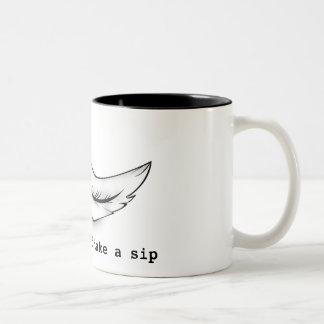Keep calm and take a glum Two-Tone coffee mug