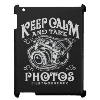 Keep Calm and Take Photos IPAD/IPAD MINI, IPAD AIR Cover For The iPad