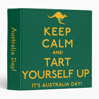Keep Calm and Tart Yourself Up! Binders