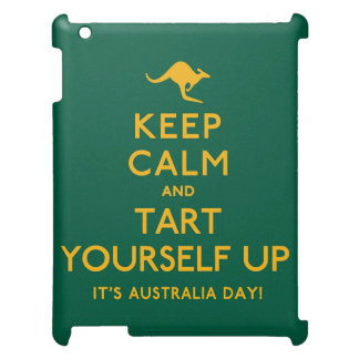 Keep Calm and Tart Yourself Up! Case For The iPad