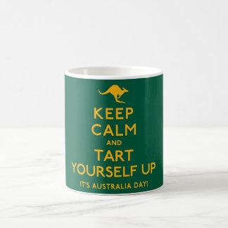 Keep Calm and Tart Yourself Up! Coffee Mug