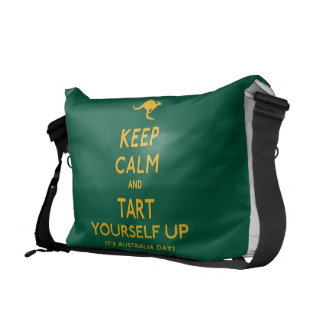 Keep Calm and Tart Yourself Up! Commuter Bags