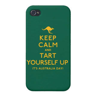 Keep Calm and Tart Yourself Up! Cover For iPhone 4