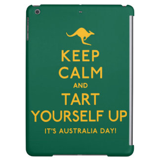 Keep Calm and Tart Yourself Up! iPad Air Covers