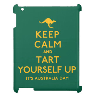 Keep Calm and Tart Yourself Up! iPad Cases
