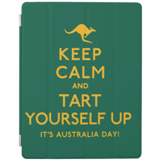 Keep Calm and Tart Yourself Up! iPad Cover