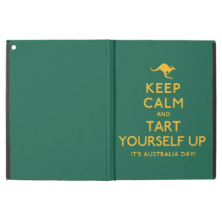 """Keep Calm and Tart Yourself Up! iPad Pro 12.9"""" Case"""
