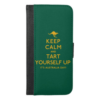 Keep Calm and Tart Yourself Up! iPhone 6/6s Plus Wallet Case