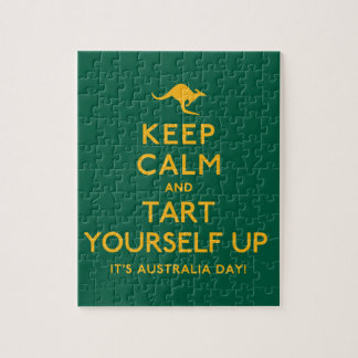 Keep Calm and Tart Yourself Up! Jigsaw Puzzle
