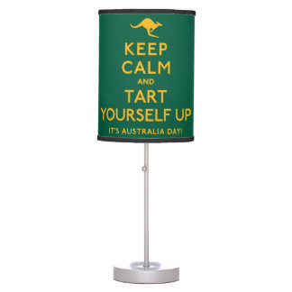Keep Calm and Tart Yourself Up! Table Lamp