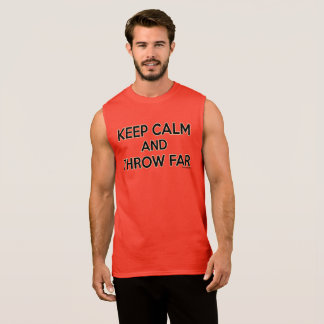 Keep Calm and Throw Far, Discus Shirt