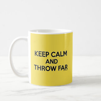 Keep Calm and Throw Far, Shot Put Mug Gift
