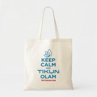 Keep Calm and Tikun Olam Tote