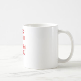 Keep Calm and Trash Talk Coffee Mug