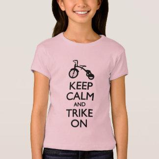 Keep Calm and Trike On T-Shirt