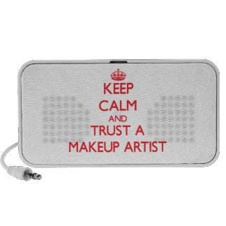 Keep Calm and Trust a Makeup Artist Mp3 Speakers
