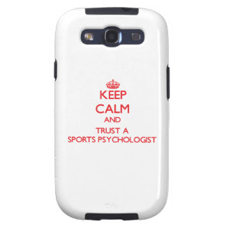 Keep Calm and Trust a Sports Psychologist Galaxy SIII Cover