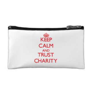 Keep Calm and TRUST Charity Makeup Bags