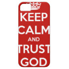 Keep Calm and Trust God iPhone 5 Case