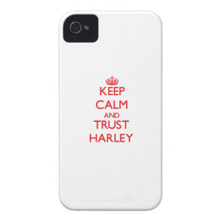 Keep Calm and TRUST Harley iPhone 4 Case-Mate Case