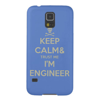 Keep calm and trust me I am engineer Galaxy S5 Cases