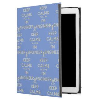 "Keep calm and trust me I am engineer iPad Pro 12.9"" Case"