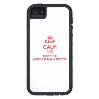 Keep Calm and Trust the Agricultural Surveyor iPhone 5 Cover